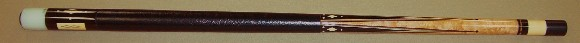 This cue was Circa 1995 refinished by Barry and since then unplayed. Three 13.2mm shafts. Excellent!