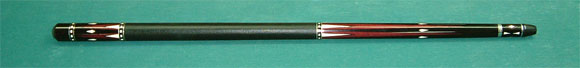 E-61 Ebony cue. Purple Heart point. Many White point Like New